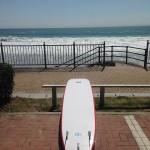 タメゴローの【中年ロングボード体験ログ】 3.マイボードで初サーフィン 市後浜