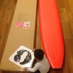 ソフトボードでサーフィンをはじめたい! 2〜ホードが届いた!〜