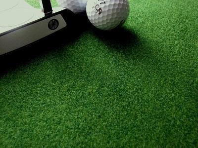 """初心者ゴルフで100切り【""""いつもの""""パター練習はまっすぐ、決まった振り幅】だけ"""