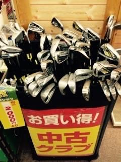 はじめて買うゴルフクラブは、【中古の7番アイアンとパターだけ】がおすすめです!